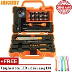 Hình ảnh Bộ tua vít đa năng 45 in 1 Jakemy JM-8139 + Tặng đèn Led usb L01