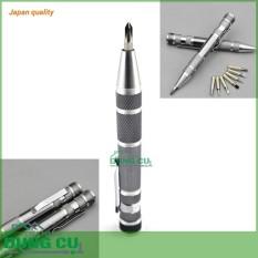 Hình ảnh Bộ tuốc nơ vít, tô vít bút đa năng nhỏ gọn thép CR-V chất lượng Nhật Bản