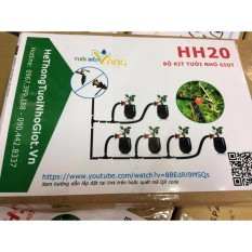 Ôn Tập Trên Bộ Tưới Nhỏ Giọt Đơn Giản Hh20 Cho 20 Chậu