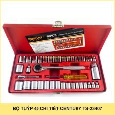 BỘ TUÝP 40 CHI TIẾT CENTURY TS-23407
