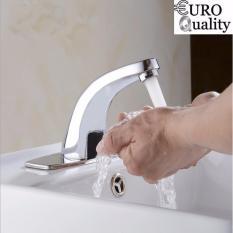 Hình ảnh Bộ vòi rửa mặt tay tự động 220v Automatic Faucet Euro Quality (sử dụng được khi cúp điện)