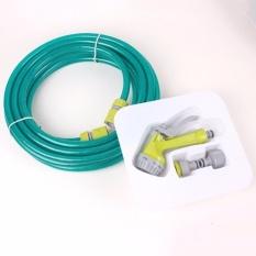 Bộ vòi xịt rửa xe chuyên dụng đa năng kèm dây 10m siêu bền (Xanh) HH-84