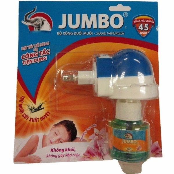 Bộ Xông Đuổi Muỗi Jumbo Vape
