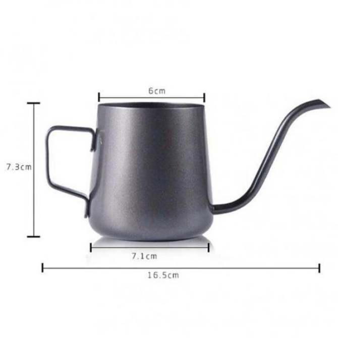 BolehDeals Cổ Ngỗng Hẹp Vòi Xịt Tay Nhỏ Giọt Cà phê Ấm Siêu .
