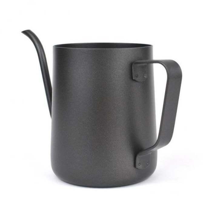 BolehDeals Gooseneck Narrow Spout Hand Drip Coffee Pot Stainless Steel Kettle 350ml intl