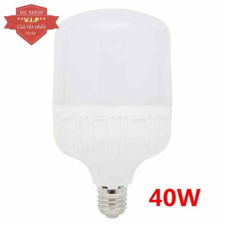 Bóng Đèn LED bulb 40W E27 công suất lớn (Ánh sáng trắng)