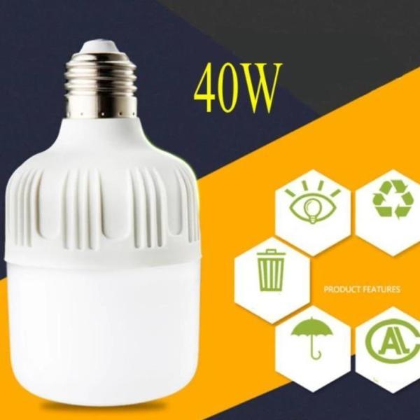 Bóng Đèn LED Bulb Trụ 40W E27 công suất lớn (Ánh sáng trắng)