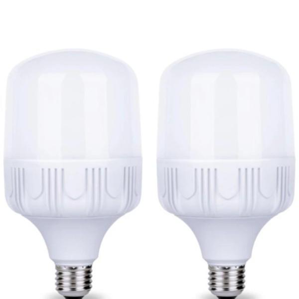 Bộ 2 bóng đèn Led trụ 30W Công Suất Cao - Phòng khách (Trắng)