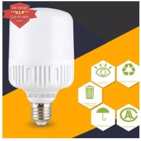 Bóng đèn led trụ 30W siêu sáng siêu tiết kiệm điện TOTTAT