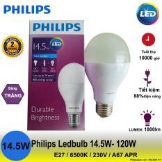 Bán Mua Bong Đen Philips Ledbulb 14 5W 120W E27 6500K 230V A67 Apr