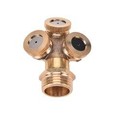 Brass Garden Sprinkler Irrigation System 3nozzles - intl