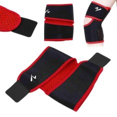 Hình ảnh Breathable Sports Elbow Brace Support Band Bandage Pad Protection Cycling gear - intl