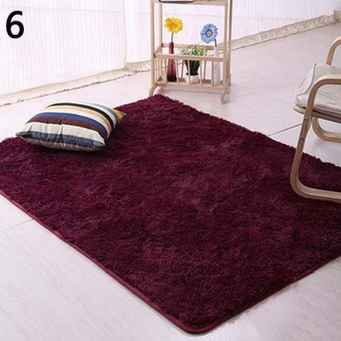 Anti-Skid Shaggy Area Rug Dining Room Carpet Floor. Source ·