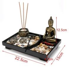 Phật giáo Vườn Thiền Cát Bộ Bàn Trang Trí Tealight Giá Đỡ Đèn Xông Hương Trang Trí-quốc tế