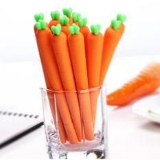 Mua Bộ 5 Cây Bút Gel Trái Cà Rốt, Thiết Kế Nhỏ Gọn, Tiện Lợi, Kiểu Dáng Đáng Yêu, An Toàn khi Sử Dụng