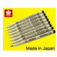 Bút Kim đi Line, Vẽ Kỹ Thuật Sakura Pigma Micron - Đa Sỹ (size 0.5) By Phụ Kiện Khalico.