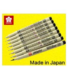 Bút Kim đi Line, Vẽ Kỹ Thuật Sakura Pigma Micron (size 0.05) - Đa Sỹ By Phụ Kiện Khalico.