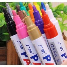 Mua Bút màu Gana dùng vẽ graffiti DIY, vẽ lốp, bút đánh dấu không phai - Đa Sỹ (trắng)