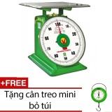 Ôn Tập Can Đồng Hồ Lo Xo Nhơn Hoa 100Kg Nhs 100 Tặng Can Treo Mini Mới Nhất