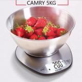 Giá Bán Can Nha Bếp Inox Camry 5Kg Man Hinh Lớn Bạc Trực Tuyến