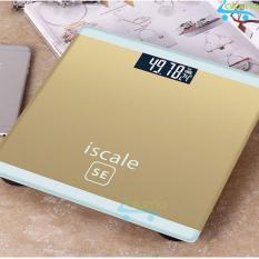 Can Sức Khỏe Điện Tử 180Kg Kiểu Dang Iphone Iscale Se Gold Aloma Chiết Khấu 50