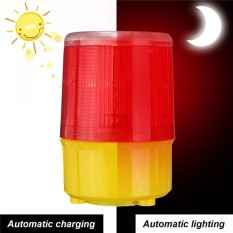Hình ảnh Car Solar Power LED Strobe Warning Alarm Security Flashing Flicker Beacon Light JS-05 - intl