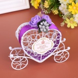 Bán Carriage Designed Hollow Candy Box Holder Packing Wedding Party Favour Intl Trực Tuyến Trung Quốc