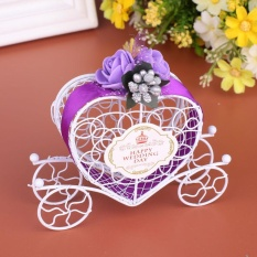 Ôn Tập Carriage Designed Hollow Candy Box Holder Packing Wedding Party Favour Intl Trung Quốc