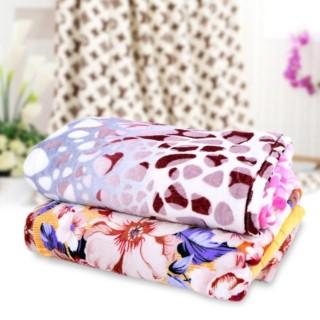 Chăn mền vải cotton nhung siêu mềm mịn, hàng Việt Nam cao cấp, an toàn (1,8m x 2,2m) thumbnail