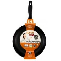 Chảo chống dính sử dụng bếp điện từ Supor F12A26 26cm Đen
