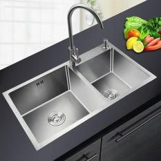 Chậu rửa bát 2 bồn Cao Cấp Innox 304 (HAR 01)