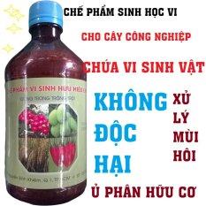 Giá Bán Ché Phảm Sinh Học Hữu Cơ E M Cho Cay Tròng Làm Phan Hữu Cơ Vi Sinh 500Ml Trong Hồ Chí Minh
