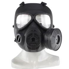 Trưởng M04 Mặt Nạ Phòng Độc CS Lĩnh Vực Chiến Thuật Mặt Nạ Ống Kính Chống sương mù Xả Thiết Bị, Màu Đen-quốc tế