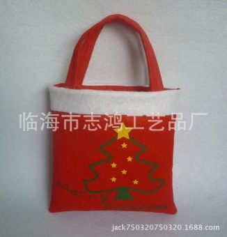 Christmas candy bag Christmas gift bag Christmas tree pattern new hot products - intl