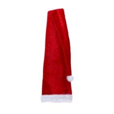 Hình ảnh Bữa Tiệc giáng sinh Ông Già Noel Dài Nón Sang Trọng Nắp Trang Phục Người Lớn Xmas Dài Nón (Đỏ)-quốc tế
