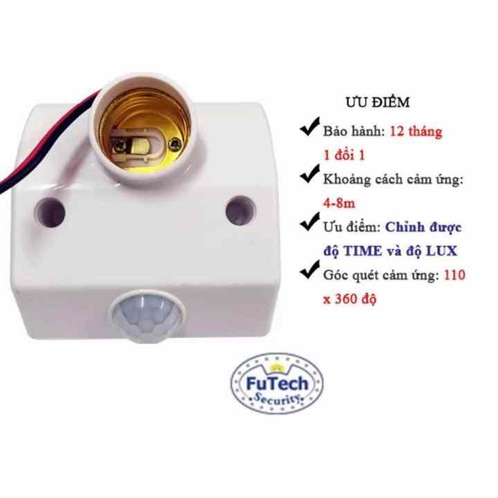 Chuôi Đèn Cảm Ứng Futech