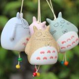 Chuông Gió Totoro Gốm Cao 7.5cm (Màu Ngẫu Nhiên)