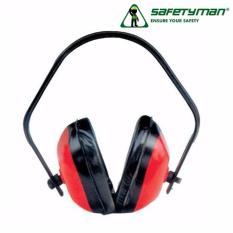 Chụp tai chống ồn Safetyman HF600(Red)