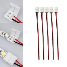 Hình ảnh Cocotina PCB Cáp 2 Pin Dây ĐÈN LED Đầu Kết Nối 3528/5050 Đơn Màu Adapter Hữu Ích 8 mét-quốc tế