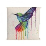 epayst【clearance sale+ready stock】Colorful Animal Pattern Pillowcase Sofa Cushion Cover Bed Decoration (Bird)