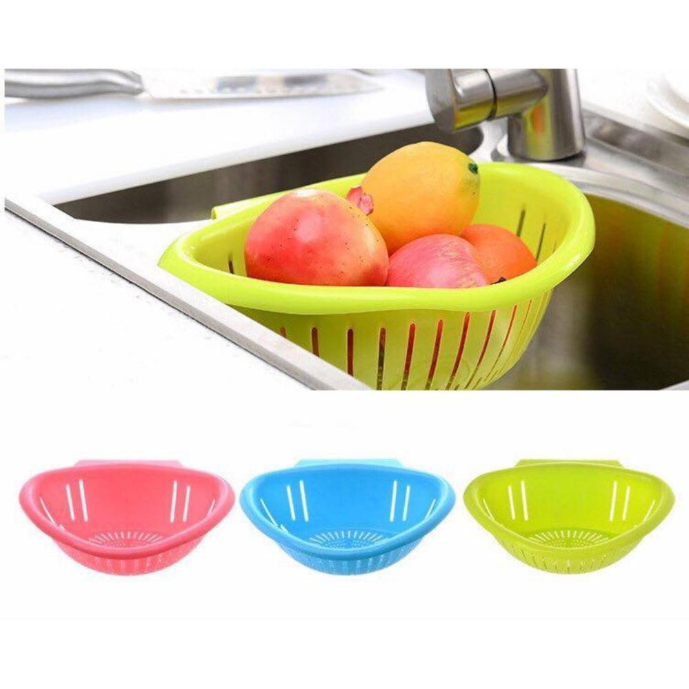 Hình ảnh Com Bo 3 Rổ nhựa gác bồn rửa tiện dụng - Kmart