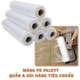 Combo 2 Cuộn Mang Bọc Quấn Hang Pallet Mang Chit Pe 5Kg 50Cm Oem Chiết Khấu 40