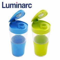 Ôn Tập Combo 2 Ly Co Nắp Thủy Tinh Luminarc Transportable L5450 500Ml