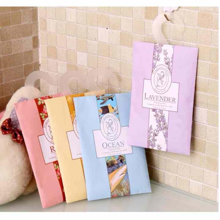 Combo 2 túi thơm nhiều mùi treo phòng + Tặng kèm 1 thẻ tích điểm tại gian hàng Giá tốt 360
