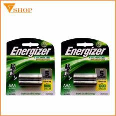 Combo 4 viên Pin sạc AAA  Energizer 700mah (pin sạc đũa )