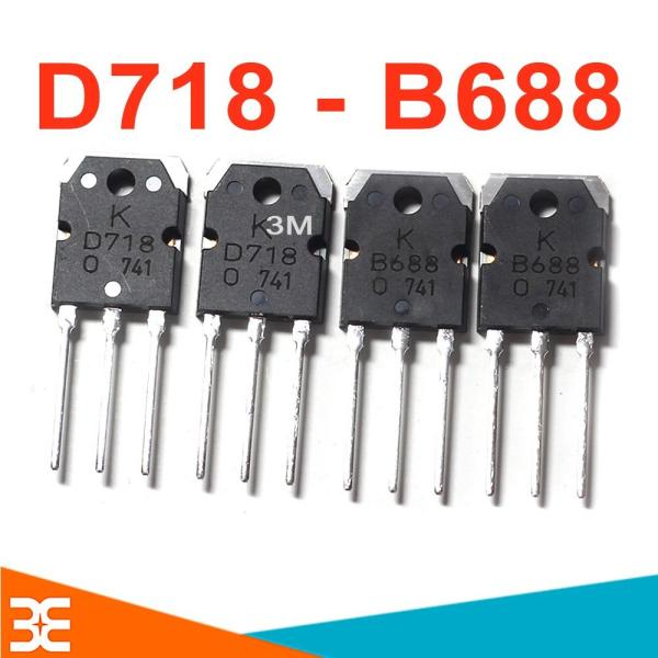 Combo 4 Con Transistor D718 và B688 ( Mỗi Loại 2 Con )