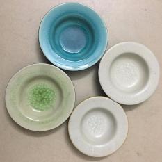 Combo 4 đĩa đựng Nước Chấm Mầu Sắc Bất Kỳ By An Home.
