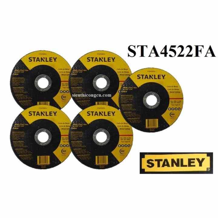 Combo 5 Đá cắt 125*2.5*22mm Stanley - STA4522FA.5