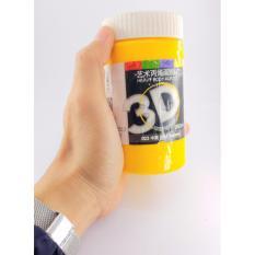 Mua COMBO 5 LỌ SƠN 3D VẼ TRANH TƯỜNG, TRANH THIẾU NHI ( ĐỎ, VÀNG, LAM, TRẮNG, ĐEN) + TẶNG KÈM 6 CỌ VẼ