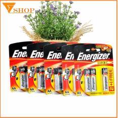 Combo 5 vỉ Pin Energizer AA vỉ 3 viên